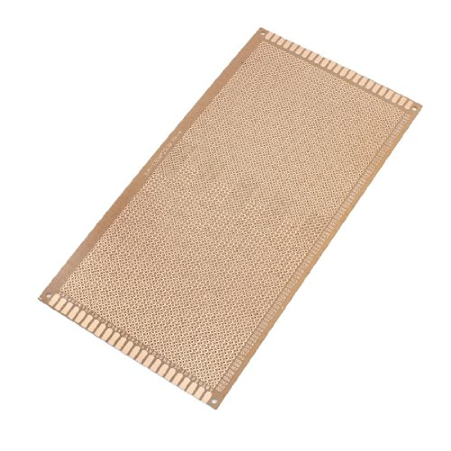 Aexit 130x250mm Single Prototyping Boards Side Copper Coated Printed Circuit Circboard Prototyping Boards Board Stripboard