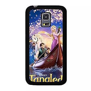 Cartoon Cover Shell Tangled Series Phone Case Snap on Samsung Galaxy S5 Mini Cute Elegant Disney Pattern Cover Tangled Back Skin