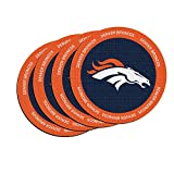 NFL Denver Broncos Neoprene Ring of Honor Coasters, Set of 4