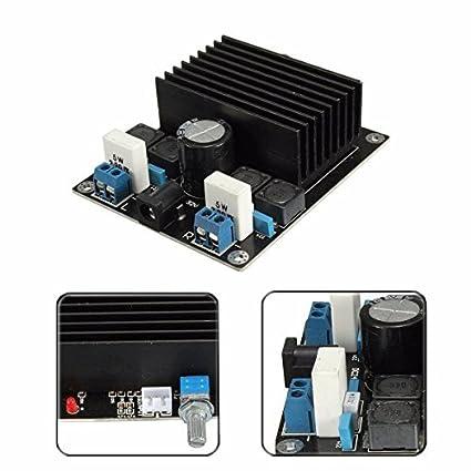 Amplifier Module Board, CandyQ 100W + 100W Amplifier TDA7498 Class D DIY  Amplifier Board