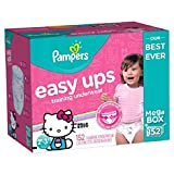 Pampers Easy Ups Training Underwear for Girls, Dora the Explorer (4T-5T, 112-Pack)