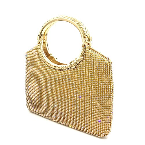 Fashion Handbags Yellow Shoulder Bags Banquet Rhinestone Dinner Handbags Canary Evening Myj Tq5nxBwOdT