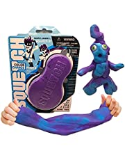 Squetch – Squish It! Stretch it! Squetch It! / Fun Easter Toy / Colour Change Purple to Blue / New and Original Play Material / Super Light and Fluffy Like Cotton / Super Stretchable and Mouldable / Never Dries Out / Fidget and Creative Toy for Kids