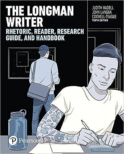 Amazon Com The Longman Writer 10th Edition 9780134407647