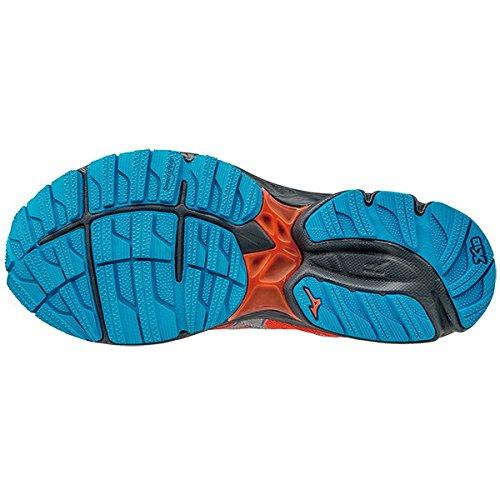 Mizuno–Wave Rider 20Gore-Tex Zapatillas de running (rosa/azul)