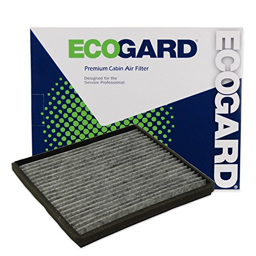 (ECOGARD XC38210C Cabin Air Filter with Activated Carbon Odor Eliminator - Premium Replacement Fits Volvo S40, V40)