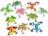 Fun Express - Mini Vinyl Frogs (1-Pack of 72)