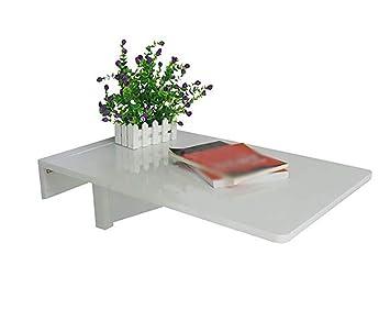 Zcjb table murale à abattant en pin table à suspendre gain de place