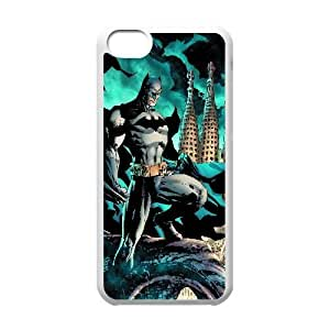 Batman Comic iPhone 5c Cell Phone Case White PQN6053055392556
