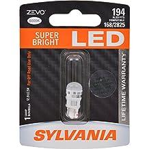SYLVANIA ZEVO 194 T10 W5W White LED Bulb (Pack of 1)