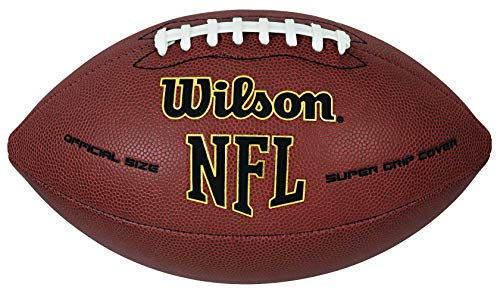 (Wilson NFL Super Grip Official Football)