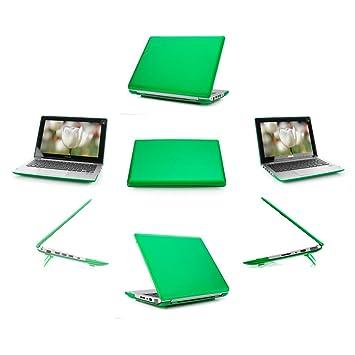 mCover ligero Funda dura 11,6 pulgadas ASUS VivoBook X200CA / X200MA / F200CA / F200LA series ordenador portátil - Verde: Amazon.es: Informática