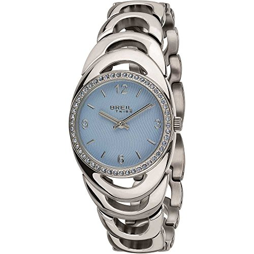 BREIL Watch Tribe Saturn Female Light Blue with Crystals - EW0393