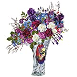Disney Tim Burton's The Nightmare Before Christmas Undying Love Illuminated Artificial Floral Table Centerpiece by The Bradford Exchange