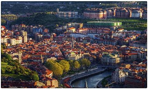 España casas Bilbao ciudades Tourist Souvenir muebles & decoración imán imanes de nevera: Amazon.es: Hogar