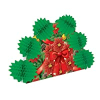 Beistle 1-Pack Christmas Pop-Over Centerpiece, 10-Inch