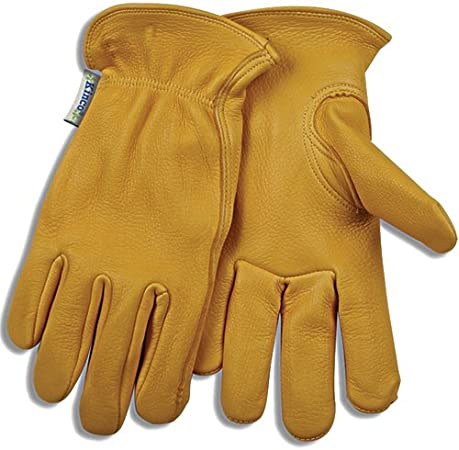 Kinco 90HK Mens LINED DEERSKIN Leather Driver Work Gloves Cold Winter