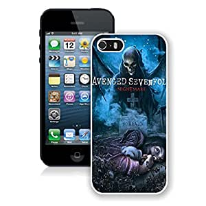 Beautiful And Durable Designed Case For iPhone 5S With Avenged Aevenfold iPhone 5s White Phone Case 025
