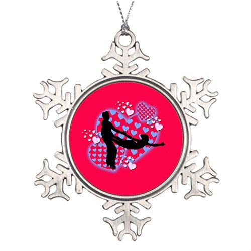 Metal Ornaments Tree Branch Decoration Skate Ice Skating Images Of Christmas Decorations