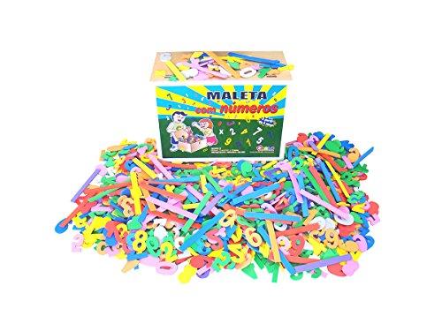 Maleta com 1000 Números Eva Carlu Brinquedos