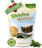 Steviva Blend - Erythritol, Stevia Blend NonGMO Low Carb Sweetener 1 Pound Bag