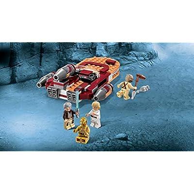 LEGO Star Wars - 75173 Luke's Landspeeder 2020 (Renewed): Toys & Games