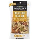 Snak Club Exotic Fruit Trail Mix, 8-Ounces, 6-Pack