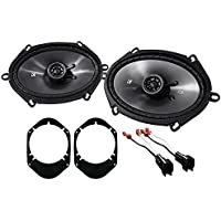 2004-2006 Ford F-150 Kicker 6x8 Front Factory Speaker Replacement Kit