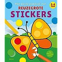 Mijn eerste plakboek met reuzegrote stickers (2-4 j.): Met herbruikbare stickers