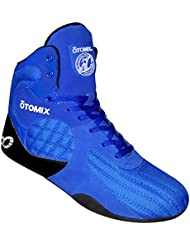 Otomix Royal Blue Stingray Escape Bodybuilding Weightlifting MMA & Boxing Shoe Mens