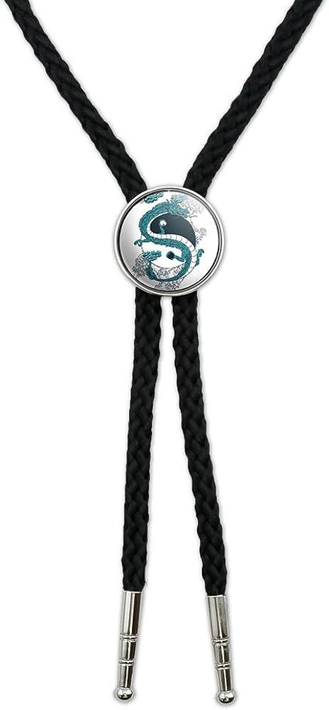 Pewter Penguins  Necklace Western Cowboy Necktie Bola Bolo Tie codeb43 unisex line dancing cowboy Wild West bird of prey