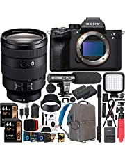 $4698 » Sony a7S III Full Frame Mirrorless Camera Body FE 24-105mm F4 G OSS Zoom Lens SEL24105G ILCE-7SM3/B Bundle with Deco Gear Photography Backpack Case, Software and Accessories