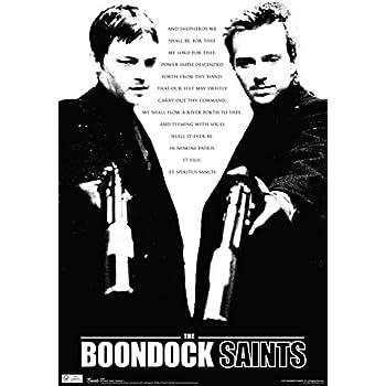 amazoncom scorpio the boondock saints cross poem poster