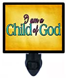 Mormon Faith Night Light - I am a Child of God - LDS