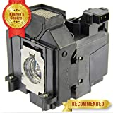 Kingoo Excellent Projector Lamp for EPSON EH-TW9200W PowerLite HC 5010 PowerLite HC 5010e PowerLite HC 5020UB PowerLite HC 5020UBe PowerLite HC 5025UB Replacement Projector Lamp with Housing
