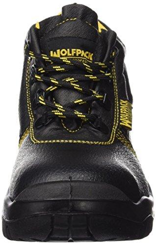 Botas Seguridad Piel Negra Wolfpack Nº 38 (Par)