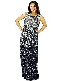 Women Party Wear Dress Long Length New Evening Fashion Tunic Dress