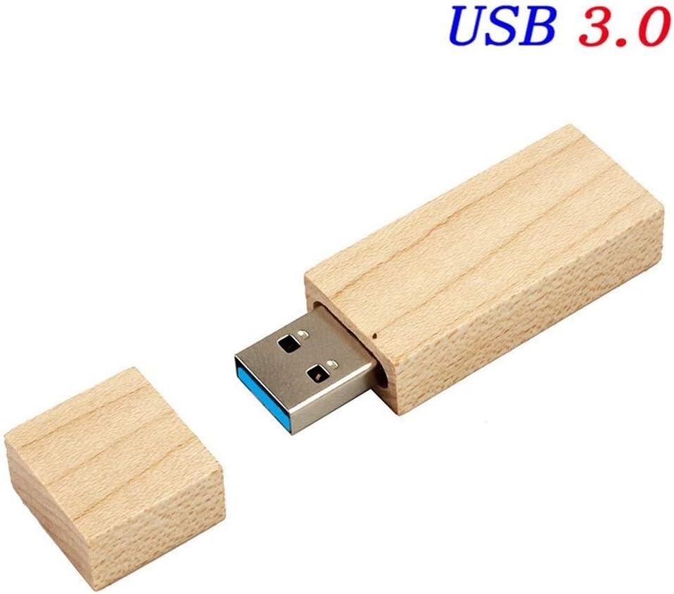 YANODA Fotografía Cliente De Madera Caja De Regalo USB Unidad Flash USB USB 3.0 Pluma De Madera Unidad 8GB 16GB 32GB Regalos De Boda (Capacity : 64GB, Color : Maple Wood): Amazon.es: Electrónica