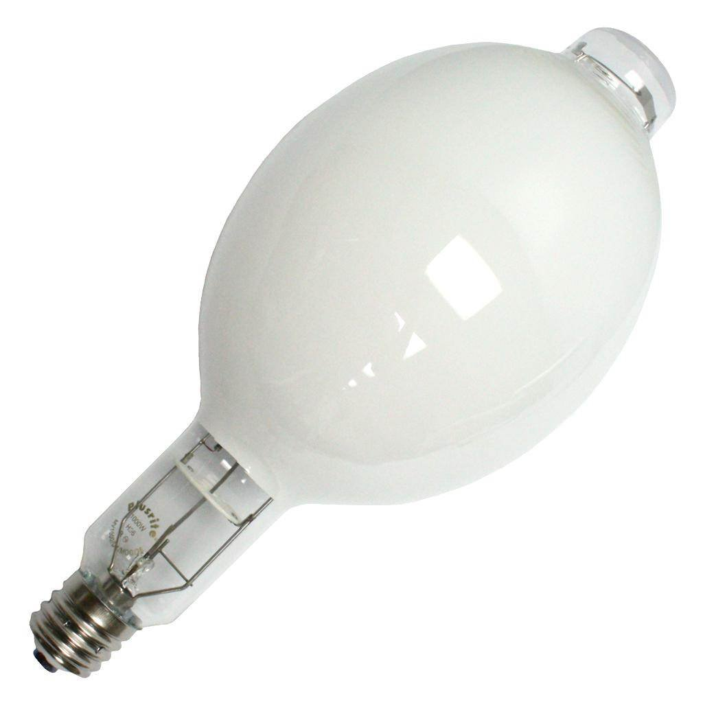 Plusrite 2310 1000W - Mercury Vapor - 58,000 lm - 3900K - Coated - 58 lm/W - ANSI H36 - Light Bulb