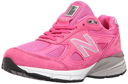New Balance Women's w990v4 Running Shoes, Komen Pink, 9 D US