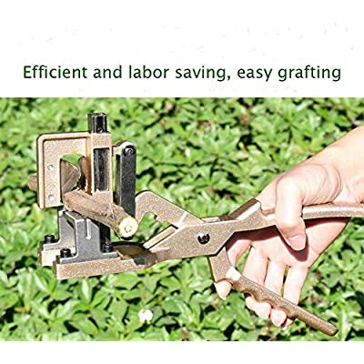 Zmucen Garden Grafting Tool Pruning Shears 4/5 Inch Cutting Depth/Diameter Budding Vaccination Knife Cutting Pruner for Garden Fruit Trees and Vines with SK5 Steel Blades and Aluminum Alloy Handle : Garden & Outdoor