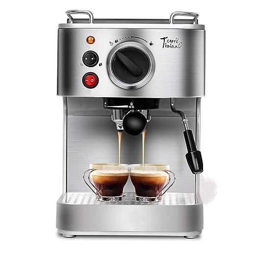 920W Profesional Maquina de cafe Semiautomático Acero ...