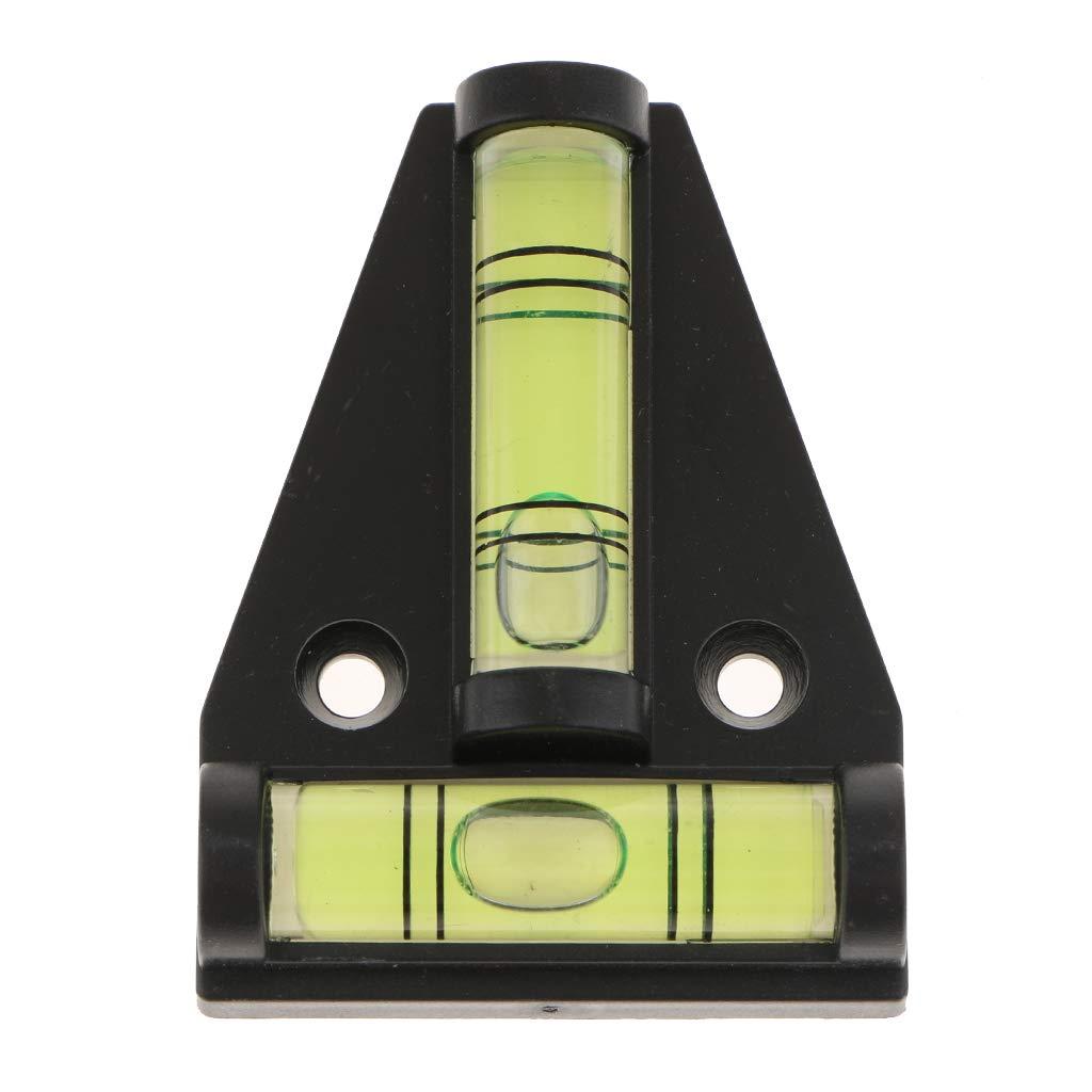 D DOLITY T Type Mini Bubble Spirit Level Measuring Device Triangular Indicator For RV