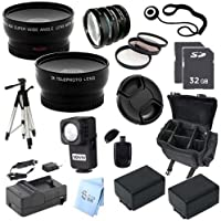 ULTRA ACCESSORY PACKAGE: for Panasonic HC-V700 Full HD Camcorder