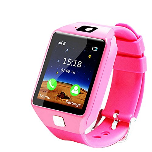 Kacowpper Christmas Best Gift for Kids EU9 Loss Prevention Information Reminds Notice Remote Camera Kid Smart Watch The Safest Guarantee for Your Kids