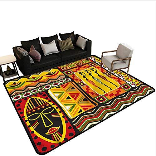 48 Rectangle Hearth - African,Kitchen Doormat 48