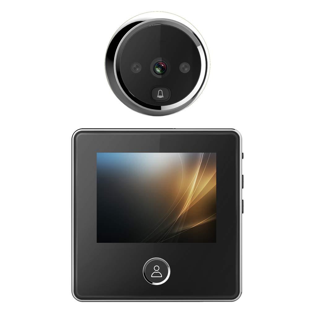 F Fityle Multifunktions Wireless Wlan Video Türklingel Türsprechanlage mit Nachtsicht Kamera