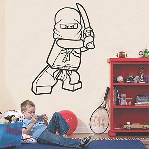 yaonuli Vinilo Decoración para el hogar Cartoon Ninja Vinilo Vinilo removible 45X46cm: Amazon.es: Hogar
