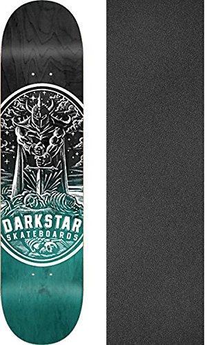 DARKSTAR WARRIOR SKATE DECK-8.0 AQUA w/ MOB - Darkstar Decks