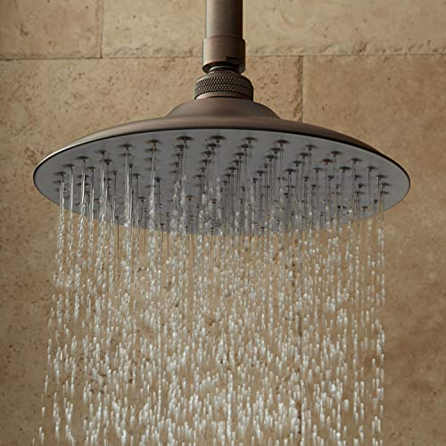 Signature Hardware 403359 12 Bostonian 1.9 GPM Single Function Rain Shower Head